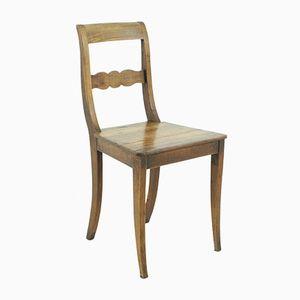 Antique Cherry Biedermeier Chair, 1850s