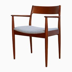 Model 176 Teak Desk Chair by Hovmand Olsen for Mogens Kold, 1960s