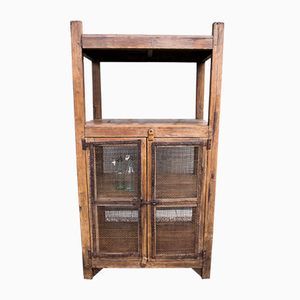 Antique Indian Teak Cupboard