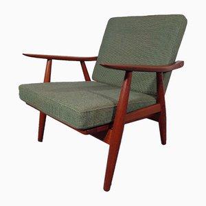Vintage GE 270 Teak Armchair by Hans J. Wegner for Getama
