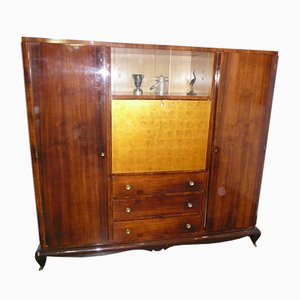 French Rosewood Secrétaire, 1940s