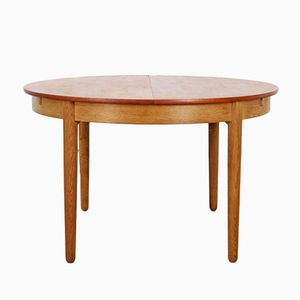 Vintage Dining Table by Hans J. Wegner for Andreas Tuck