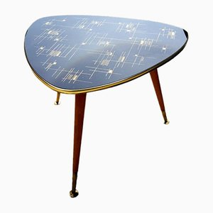 Tripod Table with Compass Feet, 1950s