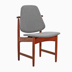 Chaise en Teck par Arne Hovmand Olsen, Danemark, 1960S