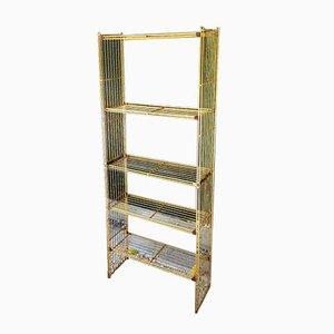 Brass Shelves from Multimuble, 1960s