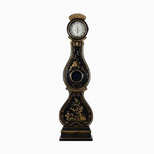 Antique Swedish Painted Mora Clock