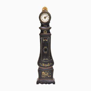Antike Schwedische Mora Uhr, 1734