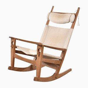Rocking Chair GE673 par Hans J. Wegner pour Getema, 1970s