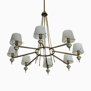 Vintage Italian Chandelier from Stilnovo, 1950s