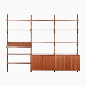 Scandinavian Teak Wall System by Poul Cadovius for Cado, 1959