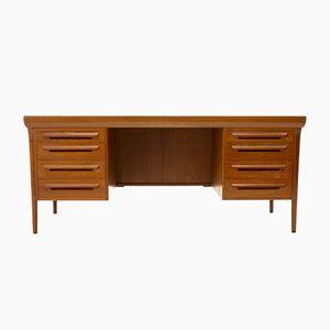 Vintage Teak Schreibtisch von Ib Kofod Larsen für Faarup Møbler
