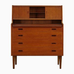 d nischer vintage teak sekret r 1950er bei pamono kaufen. Black Bedroom Furniture Sets. Home Design Ideas