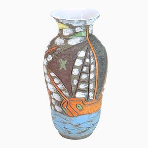 Large Mid-Century Italian Vase from Fratelli Fanciullacci