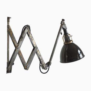 Vintage Scissor Wall Lamp by Curt Fischer