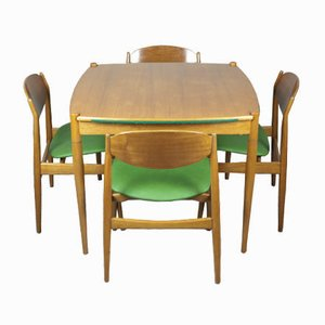 Game Table and Chairs by Gio Ponti