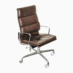 EA219 Office Chair with Four Star Base by Charles & Ray Eames for Herman Miller, 1960s