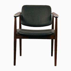 Armchair in Rosewood by Arne Vodder for Bovirke, 1960s