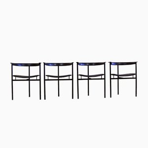 Chairs from Enrico Pellizzoni, Set of 4