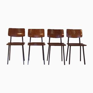 School Chairs from Marko, Set of 4