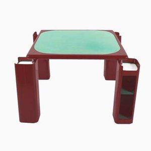 Game Table by Pierluigi Molinari for Pozzi Milano, 1970s