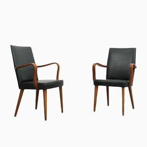 Mid-Century Stühle von Anonima Castelli, 2er Set
