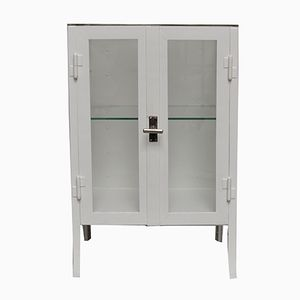 Small Vintage Industrial Hospital Cabinet, 1940s