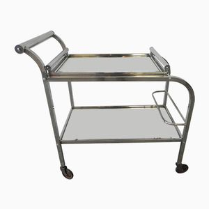Art Deco Chromed Tea trolley, 1930s