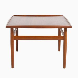 Vintage Small Coffee Table by Grete Jalk for France and Søn