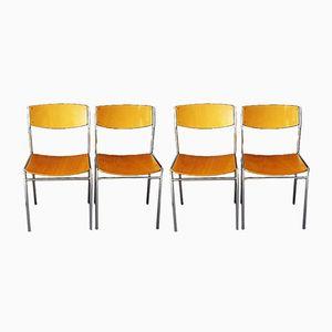 Vintage Schichtholz Stühle von Gijs van der Sluis für 't Spectrum Holland, 4er Set