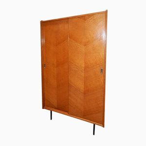 Vintage Wardrobe with Sliding Door