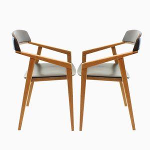 Chaises de Bureau, Danemark, 1960s, Set de 2
