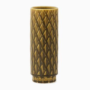 Eterna Serie Keramik Vase von Gunnar Nylund für Rörstrand, 1960er