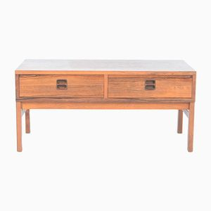 Rosewood & Teak Chest of Drawers, 1970s