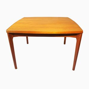 Vintage Extendable Dining Table by Henning Kjærnulf