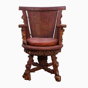 Chaise de Bureau en Calcaire, 1900s