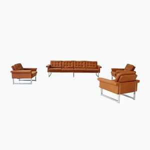 Four-Seater Sofa & Lounge Chairs from Kill International, 1967