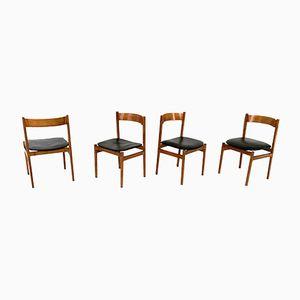 Stühle von Gianfranco Frattini für Cassina, 1950er, 4er Set