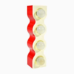 Sinus Wall Lamp by Ettore Sottsass for Stilnovo, 1972