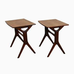 Vintage Danish Nesting Tables by Johannes Andersen for Silkeborg, Set of 2