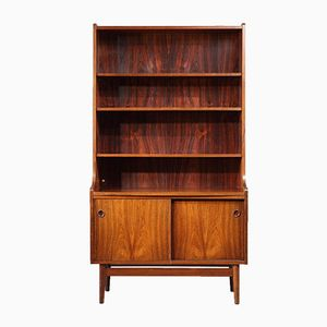 Scandinavian Bookcase by Johannes Sorth for Bornholms Mobelfabrik, 1960s