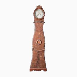 Handbemalte Antike Schwedische Mora Uhr