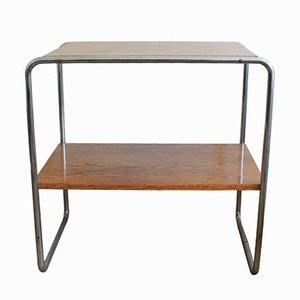 Vintage B12 Console Table by Marcel Breuer for Thonet