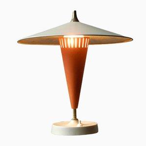 Very Large Mid-Century Metal Table Lamp