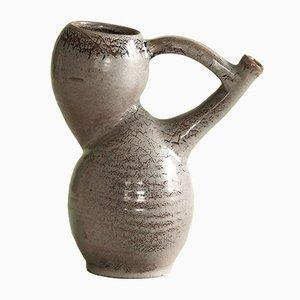 Vaso brocca di Les Potiers d'Accolay, Francia, anni '50
