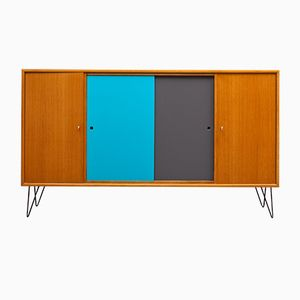 Highboard with Colored Fronts, 1960s