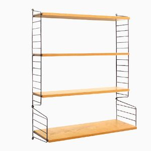 Ash Shelving Unit by Nisse Strinning for String, 1960s