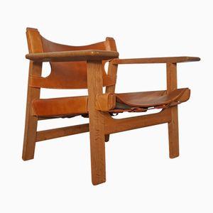 Spanischer Sessel von Børge Mogensen für Fredericia Stolefabrik, 1967
