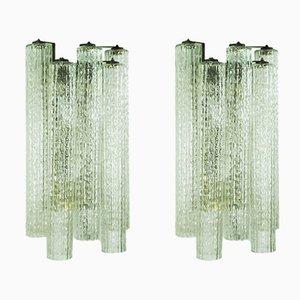 Wandlampen von Toni Zuccheri für Venini, 1960er, 2er Set