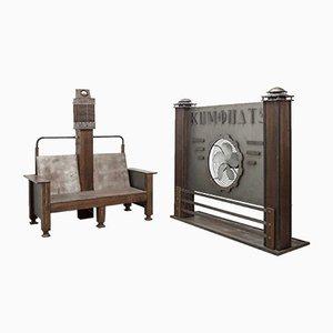 Elektrischer Vintage Sessel von Film Prop & Propeller Wall