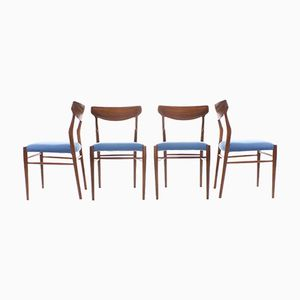 Dining Chairs from Lübke, 1960s, Set of 4